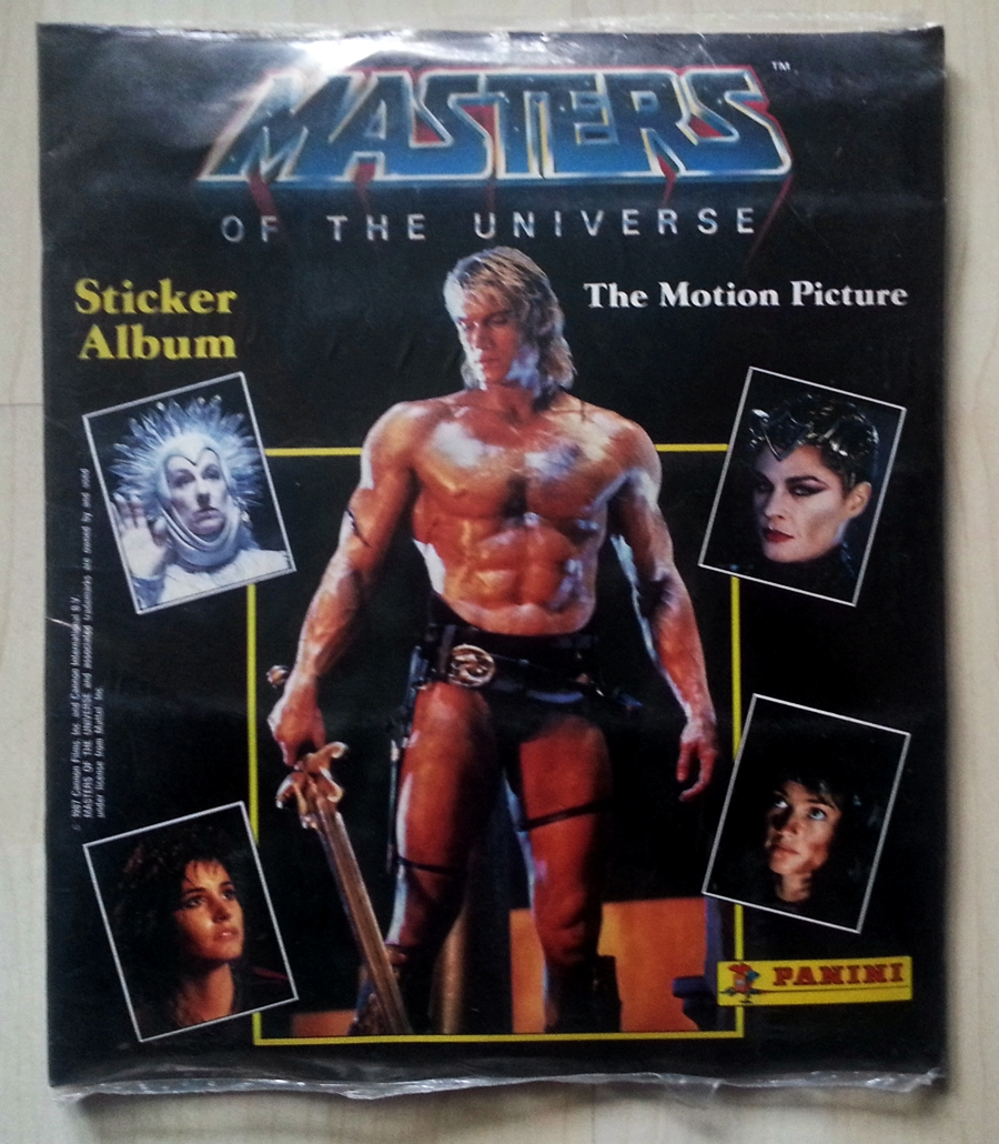 Masters of the Universe Panini Movie Album